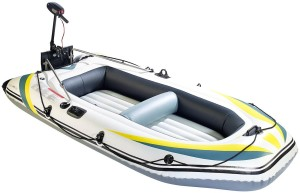 Speeron Schlauchboot mit Elektro-Motor