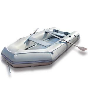 Schlauchboot 320x151cm, Motorboot mit Alu Boden